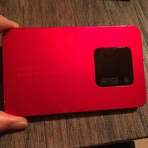 【本体のみ】Wi-Fi /WiMAX2+ wx01 説明書なし、箱なしとなります。クーポン利用可