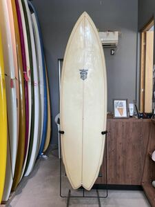USED HOBIE サーフボード 4フィンFISH