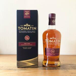 TOMATIN トマーティン14年 ポートカスク 700ml 46% ウイスキー スコットランド PORT CASKS スコッチ 白州 山崎 知多 響 ネイキッドグラウス