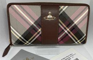 Vivienne Westwood ラウンドファスナー ウォレット 長財布 ブラウン 未使用