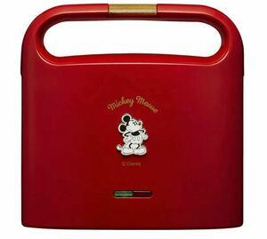 Disney ホットサンドメーカー TSH-701D RD