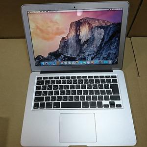 APPLE(アップル) MacBook Air A1466(Intel Core i5第五世代 1.6GHz/4GB/SSD512GB)IOS10.10.5 充放電回数14回