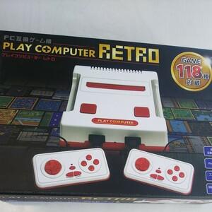FC互換機用 プレイコンピューターレトロ KK-00252 ファミコン互換機 ゲーム機 PLAY ファミリーコンピュー