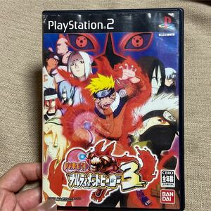 ナルト ナルティメットヒーロー3 PS2 ソフト