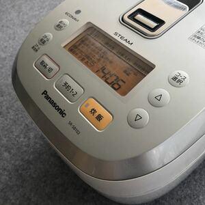 Panasonic 炊飯器 内釜一部はがれあり パナソニック