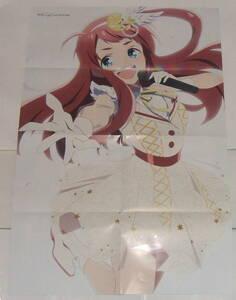 ゾンビランドサガ リベンジ ストライク・ザ・ブラッド 付録 B2 ポスター ( 源さくら 姫柊雪菜 )
