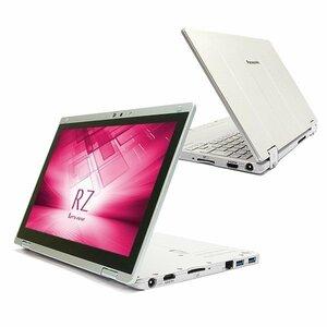 良品レベル!超軽量2in1 タブレット Panasonic-CF-RZ4 Core-m(5Y71)・4GB・SSD128GB・カメラ・OFFICE2019・WIFI・Win10・Bluetooth・フルHD