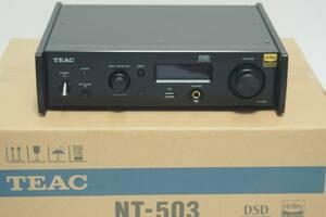 ほぼ未使用 TEAC NT-503 ネットワークプレイヤー/トランスポート DAC 元箱有 Hi-Res Audio DSD