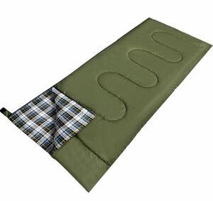 寝袋シュラフシュラフカバー スリーピングバッグ封筒型 210T防水 保温 軽量
