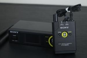 【ソニー SONY】デジタルワイヤレストランスミッターセット!!(ZTX-B02RC)(ZRX-HR70)