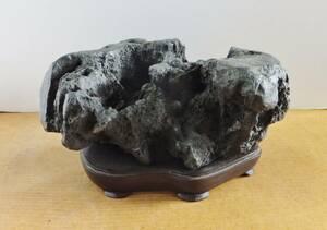 水石・鑑賞石 ★ 加茂川石 I-7 ★複雑な形状が魅力的です。
