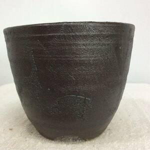観覧舎陶房 植木鉢 ウチョウラン鉢山野草鉢 810