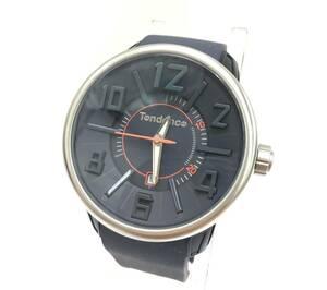 KZ752★Tendence GULLIVER47 腕時計★ネイビー テンデンス