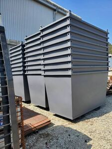 approximately 1.5 cubic meter unused goods baccan large amount stock armroll baccan etc. various equipped