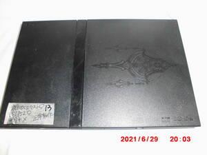 13 FFモデル 薄型 中古PS2 SCPH-75000FF ブラック 正常動作 プレイステーション2 レターパックプラス 送料520円