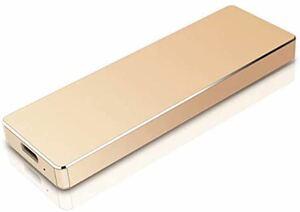 金 外付けHDD 1TBハードディスク ポータブルHDD USB3.1/Type C