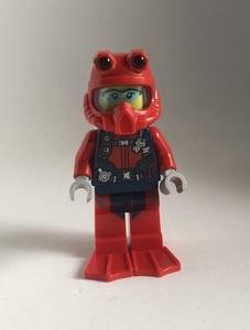 即決 新品 未使用 レゴ LEGO ミニフィギュア ミニフィグ シティ タウン ダイバー スキューバーダイビング