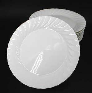 26cm 白波丸皿 スパゲティ ピザ 10枚 アフターコロナに向けて