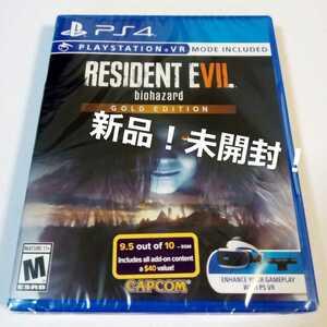RESIDENT EVIL 7 GOLD EDITION 北米版 PS4 レジデントイービル7 ゴールドエディション バイオハザード