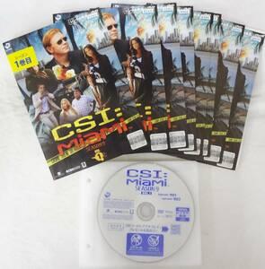 送料無料 レンタル落ち中古DVD CSI:マイアミ シーズン9 全8巻セット