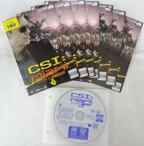 送料無料 レンタル落ち中古DVD CSI:マイアミ シーズン10 ザ・ファイナル  全7巻セット