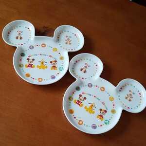 ミッキーミニー プルート ワンプレート ワンディッシュ ミッキーワンプレート ミニーワンプレート ミッキー皿 ミニー皿 ディズニー