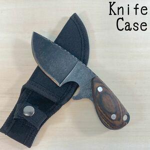 サバイバルナイフ ケース付き アウトドアナイフ シースナイフ
