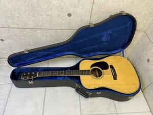 【送料無料】アコースティックギター Morris W-30 モーリス ハードケース付 現状品 A702-6