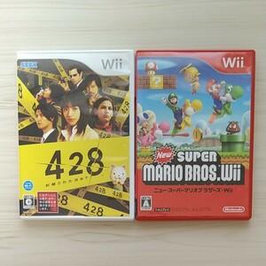 Wii ニュースーパーマリオブラザーズwii + 428 封鎖された渋谷で