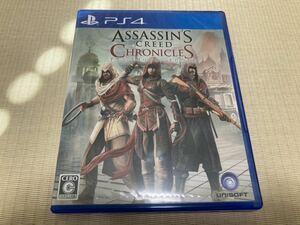 【新品同様】PS4 アサシン クリード クロニクル ASSASSINS CREED CHRONICLES