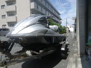 ヤマハ FX SHO 北九州発 船体のみです。トレーラーは、付きません 完全車庫保管です。
