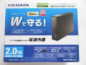 ★即決★IO DATA★USB 3.0対応外付HDD/2TB/WD Red/電源内蔵★HDJA-UT2.0W