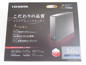 即決★IO DATA★USB 3.0対応外付HDD、WD Red、電源内蔵★HDJA-UT3.0WHQ、3TB