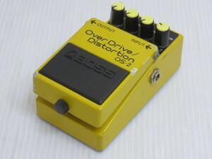 【中古品】 BOSS OverDrive/Distortion OS-2 オーバードライブ/ディストーション ギターエフェクター 〇YR-13283〇