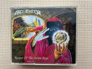 HELLOWEEN KEEPER OF THE SEVEN Keys 1&2完全版 守護神伝 国内盤 レア 美品 送料無料!