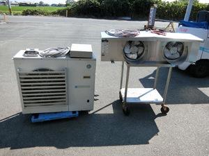 冷凍プレハブ 3馬力 1.5坪用 冷凍ユニット ホシザキ 冷凍機 福岡県 大川市
