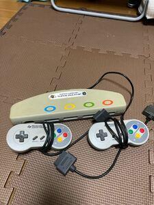 スーパーファミコン マルチタップ コントローラー SFC Nintendo