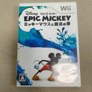 ミッキーマウスと魔法の筆 ニンテンドーWii Wii