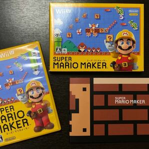 スーパーマリオメーカー WiiU ブックレット ソフト SUPER MARIO MAKER WiiUソフト 任天堂Wii