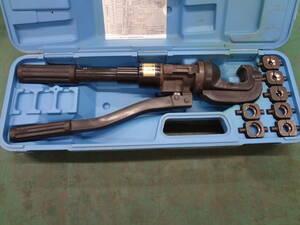 ●泉精器 T形コネクタ用 手動油圧式 圧着工具 15号B  イズミ IZUMI ●1