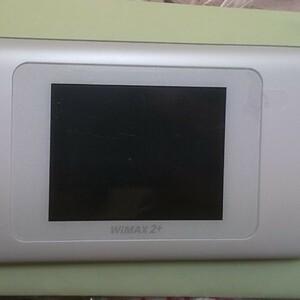 SIMフリーモバイルルータ W06 ホワイト UQ版 (中古) SIMフリー Pocket WiFi WiMAX2