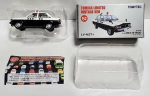 広告あり トミーテック トミカリミテッド ヴィンテージ ネオ トヨタ 4代目 カローラ 1500 前期型 パトロールカー LV-N27a ミニカー TOYOTA