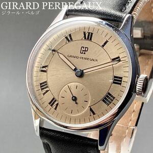 美品★動作良好★ジラールペルゴ アンティーク 腕時計 1950年代 手巻き メンズ GIRARD-PERREGAUX ビンテージ ウォッチ 男性