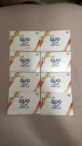 QUOクオカード 10000円分8枚 スマイルクオカード未使用!