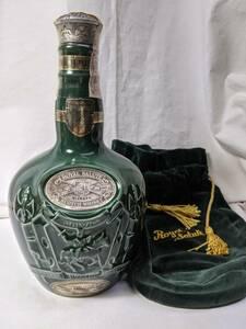 古酒 1970年代 ロイヤルサルート SALUTE ROYAL シーバス スコッチウイスキー 古酒 緑