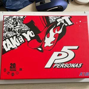ペルソナ5 PS4 ソフト アニバーサリー アトラス PS4ソフト プレイステーション4 PERSONA5 豪華版