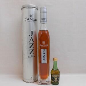 【大黒屋】未開栓 CAMUS JAZZ カミュ ジャズ スリムボトル 缶入り・CAUMS CELEBRSTION ミニボトル付き