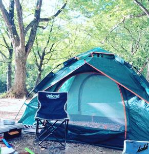 【誰でも簡単設営】 ワンタッチテント 2-3人用 耐水圧2000mm UVカット 通気性 軽量 コンパクト ツーリング キャンプ テント アウトドア