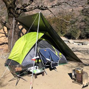 【シンプルな構造で組み立てやすい】 ツーリングテント 軽量 コンパクト 防水 通気性 結露防止 簡単設営 ソロ レジャー キャンプ