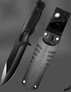 【切れ味良い耐食性ナイフ】フルタング構造 シースナイフ ステンレススチール G10 ABS素材 狩猟刀 キャンプ サバイバル フィッシング
